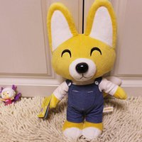 Wholesale Doll Pororo - Wholesale- New Kid Toys Pororo Plush Toys 30cm Cute Fox Eddy Stuffed Animals Soft Toys Doll Pelucia Brinquedos for Children Gift