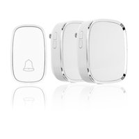 Compra Kit Flash Wireless-Kit Wireless Doorbell, 2 pulsanti a pulsante Chimes1 per ricevitore plug-in con 36 melodie, 4 livelli di volume e flash a LED, funzionanti a 1000 piedi