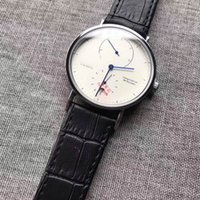 Wholesale 38mm Watch Dial - All sub-dials work man watch fashion luxury brand 38mm Sapphire Dial Leather strap casual quartz wrist watches for men's male Relogios 2018