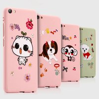 Wholesale Iphone Frosted Cartoon Case - Cute Cartoon 360 Degree Full Body Case 3 in 1 Frosted Protective Cover for iPhone 6 6s 7 plus + Tempered Glass