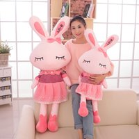 """Wholesale Love Doll Free Movie - """"New Arrivals"""" Love Rabbit Plush Toy Doll Lovely & Cute Great Brithday Gift 45CM 1PCS Free Shipping!! 001"""