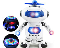 Wholesale Gestures Function - Intelligent robots dancing toy robot rotating dance multi-function electric space battle music star guard sound gesture story-telling remote