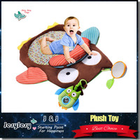Wholesale Wholesale Christmas Carpet - Children Kids Floor Play Mat Owl Animal Baby Game Mat Cute Carpet Kids Room Game Carpet Play Mat