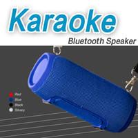 caja de música grande al por mayor-Stereo Bass MY660BT KTV Altavoz Bluetooth Reproductor de música MP3 Caja de sonido Pequeño volumen Gran sonido Altavoz portátil de levitación Con radio FM