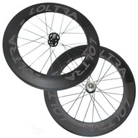 88mm Clincher / Tubular Carbon Track Bicicletas Rodas Fixed Gear Free Gear Single Speed ​​Bicycle Wheelset Hot Sale