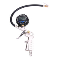 Wholesale Inflate Deflate Pump - High Precision Digital Tire Pressure Gauge For Inflated Deflated Tire Repair Tools Pressure Gun High Quality Inflatable Pump