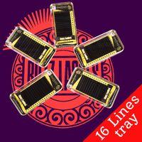 Wholesale Mixed Tray Eyelash - Buzz Lashes 1 Piece Sell 16 Lines 8~15 or Mix tray, Individual Eyelash Extension Faux Mink Eyelashes, Korean Silk Eye Lash Extensions Makeup