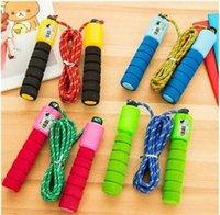 Wholesale Wholesale Skipping Ropes - Adjustable Skipping Jump Jumping High Speed Rope With Counter Number Sports Fitness Exercise Workout Gym Calorie