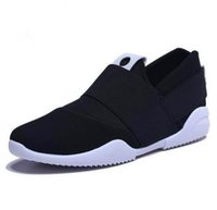 Wholesale Cheap Fabric For Cloth - cheap free shipping air mesh fabric mens loafers black blue color cloth patchwork leisure canvas shoes for mans cool walk shoes