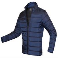Wholesale Wholesale Long Parka - Wholesale- fashin 2016 10 colors winter jacket mens mandarin collar zipper jacket coat long sleeve parkas men slim fit size 3xl