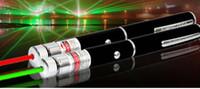 Wholesale Laser Pointer Red Kaleidoscope - Green Red Blue laser pointer 2 in 1 Star Cap Pattern 532nm 10mw Green Laser Pointer Pen With Star Head Laser Kaleidoscope Light