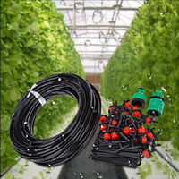 Wholesale Plant Drip System - 25M DIY Automatic Micro Drip Irrigation System Plant Watering Garden Hose Kits With Adjustable Dripper Smart Controller Suits