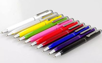 2017 2-em-1 caneta Stylus caneta para tela capacitiva touch screen Samsung galáxia s5 Tablet PC ipad mini caneta stylus canetas laptop
