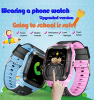 Wholesale Yisailing Q528 Smart Watch Phone Y21 Children Kid GPS SmartWatch Touch screen SOS GSM GPS LBS Locator Tracker for ios android