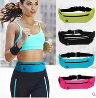 Gym Waist Bag impermeável Sport Outdoor Fashion Belt Universal Phone Case Pouch Para Samsung S7 S6 para Iphone 6S 7 7plus