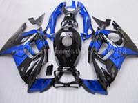 honda cbr f3 kaplama kiti toptan satış-Honda için ücretsiz kargo Fairing kiti CBR600F3 97-98 CBR600 F3 1997 1998 CBR 600 F3 97 98 siyah beyaz # t2w36 Mavi siyah