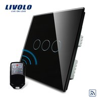 ValueBox, Smart Switch, Livolo Black Pearl Crystal Glas Panel, Fernbedienung UK Switch Remote, VL-C303R-62VL-RMT-02,
