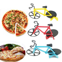 Stocked blade stick - Non Stick Bicycle Bike Pizza Cutter Blade Dual Stainless Steel Bicycle Slicer Kitchen Tool Color cm x cm