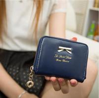 Wholesale Leather Cash Clip - new 2017 women wallets famous brand leather purse for women money clip ladies luxury girl cash purse wallet female coin pocket