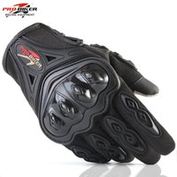 Wholesale Motorbike Protective Gear - Outdoor Sports Pro Biker Motorcycle Gloves Full Finger Moto Motorbike Motocross Protective Gear Guantes Racing Glove