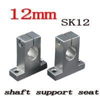 Wholesale Xyz Cnc Table - Wholesale- 4 pcs lot SK12 SK12 SH12A 12mm linear shaft support 12mm Linear Rail Shaft Support XYZ Table CNC parts