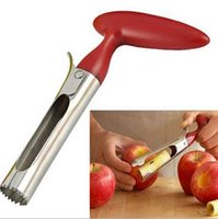 Wholesale Core Fruit - High Quality Easy To Use Core Separator Remover Fruit Vegetables Pear Stainless Steel Kitchen Tool Fruit Seeder CCA6389 100pcs