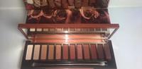 Wholesale Sticker Makeup Eyeshadow - In stock ! New Heat Eye shadow Palette 12 colors Eyeshadow Makeup Not Sticker free shipping