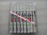 ingrosso colori fluorescenti-All'ingrosso-oodplus 80pcs / set 3mm Highlighter Fluorescent Liquid Chalk Marker Pen per LED scrittura bordo fluorescente penna colore bianco