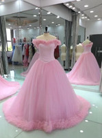 Wholesale Scalloped Sweetheart Tulle Ball Gown - 2017 Factory Whole Sale Cheap Bouffant Lovely Elegant Evening Dress Prom Dress l51502