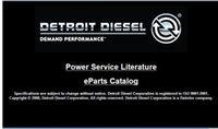 Detroit Diesel Power Servicio de Literatura On-Highway DVD 2008