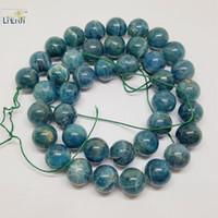 Wholesale Round Kyanite - Wholesale- Lii Ji Kyanite Round shape bead 9-10mm DIY Jewelry Making Necklace or Bracelet Approx 39cm