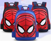 Wholesale Children S Backpack Cartoon - 171217 New Arrival 3pcs S L Hot Film Backpack Spider-Man Cartoon Children Bag Action Figure Free Shipping