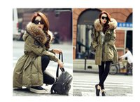 Wholesale Military Jacket Women Fashion - Hot Selling Long down jacket New Fashion authentic Krean cultivate morality really collars in large yards to collect waist military dr
