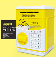 Cartoon Safety Box Pikachu Minions Piggy Bank Mini dinheiro Saving Box Password Locks Moedas Cash ATM Deposit Machine Gift de Natal para crianças
