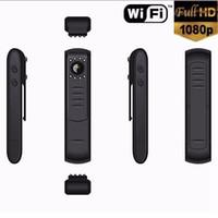 plumas de seguridad al por mayor-Wireless Wifi P2P Cámara IP Plumas DVR l7 HD 1080p Visión Nocturna Infrarroja Plumas de Grabación de la Cámara de Seguridad Monitor de Cuerpo 16 unids
