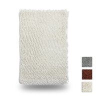 Wholesale Non Slip Chenille Bath Mat Thickened and Environment Friendly Bath Kitchen Guest Room Mat