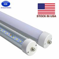 Wholesale Epistar Smd2835 - Safe Durable t8 led light tube FA8 AC100-265V 8ft 2400mm T8 tube SMD2835 high lumens led bulb Fluorescent