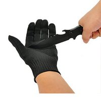 Wholesale Static Finger - Work Gloves Stainless Steel Wire Mesh Gloves-Cut Resistant Safety Work gloves Anti-Slash Cut Static Resistance Protect Gloves Level 5