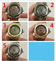 Wholesale King Japan - AAA Brand luxury Mens Watches big bang king geneve japan quartz movement rubbler belt Limited Edition Lebron skull Men Watches Wristwatch