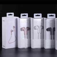 Wholesale Microphone Neck - V3 Bluetooth 4.1 Earphone Headset with Microphone VOVG Headphone Neck String In-Ear Portable Wireless Stereo Mini Earbuds Hands-Free