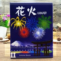 Wholesale International Plays - Wholesale- HANABI Board Game 2-5 Players Cards Games Easy To Play Funny Game For Party Family With Free Shipping