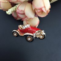 Red Car Brosche Cabrio Broach Old Sports Roadster Autos Broaches Auto Automobile Schmuck