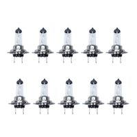 Wholesale Hid 12v - HID Halogen Low Beam H7 55W Light Bulb 12V 3500K By Post Air Mail 10pcs