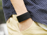 Мужская мода Braid Широкие браслеты Vintage Punk Leather Bangle Cowboy Muff Wristband Surf Hiphop Jewelry Biker Bracelet