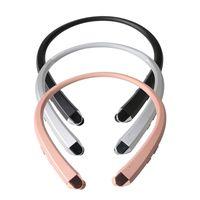 ingrosso toni bluetooth-Nuovo HBS-910 HBS 910 CSR 4.0 Tone Infinim Cuffie Bluetooth senza fili Sport Neckband Auricolare Vivavoce HBS910 per iphone7