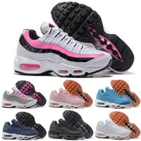 Wholesale Red Summer Tape - Womens Shoe air 95 PRM TAPE Sports Shoes Woman 2016 New Arrival Walking Shoes SneakerBoot Size 36-40