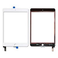замена мини-сенсорной панели ipad оптовых-Бесплатная Доставка Для iPad Mini 4 Высокое Качество Новый 100% Тестирование Сенсорный Экран Стеклянная Панель Замена Дигитайзер