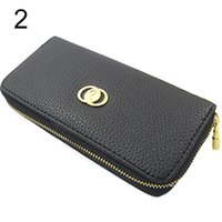 Atacado- Nova Womens PU Leather Wallet Coin Purse Phone Case para iPhone 5 4S iPhone 4 Galaxy Galaxy HTC Mobile Phone Item 01M5 4ME9