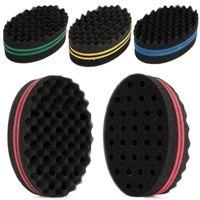 Wholesale Magic Curls - Double Wave Magic Hair Twist Sponge Dreads Twisting Locks Dreadlocks Curl Brush Sponge