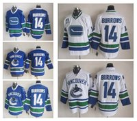 ... Stitched Vancouver Canucks 14 Alex Burrows Blue White Blue 3rd White  Hockey Jerseys Ice Jersey do ... d0317fdfb